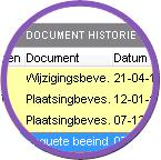 Documenthistorie