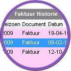Faktuurhistorie